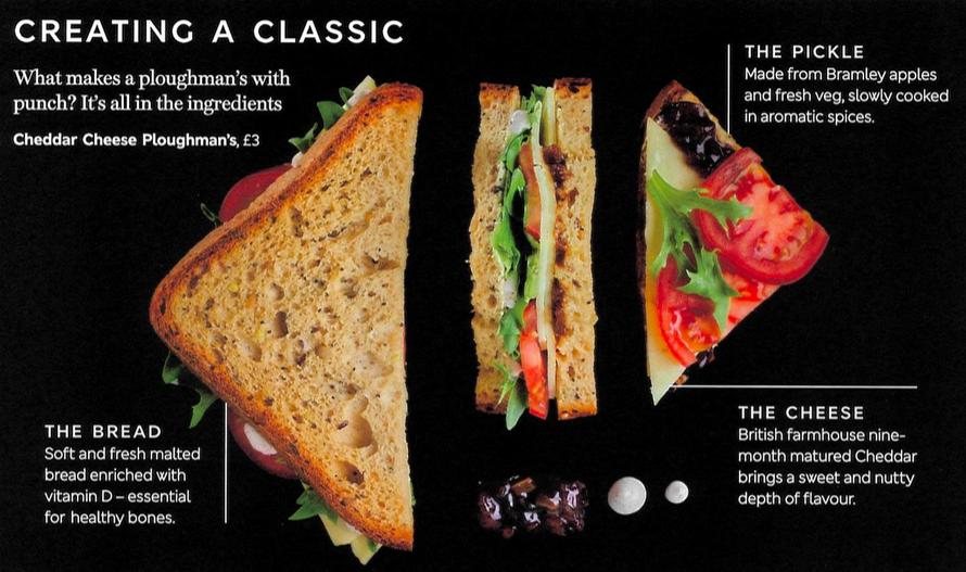 New British Airways Buy on Board Sandwich