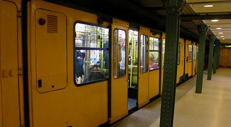 Historic Line 1 Subway Budapest