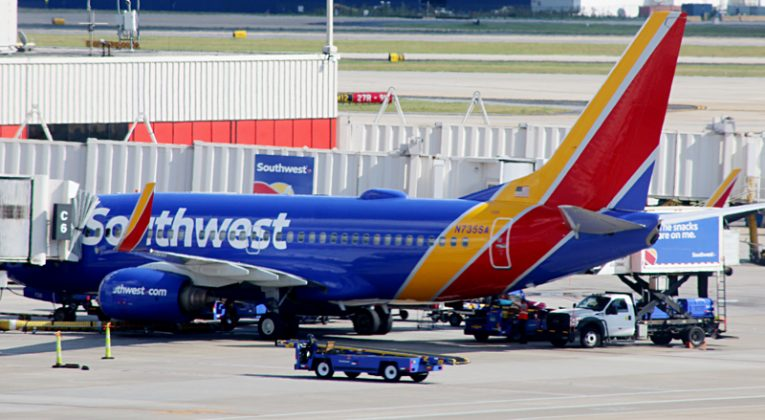 Southwest Airlines Boeing 737-7H4 aircraft