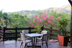 Breakfast at Mantenga Lodge in Mbabane, Swaziland