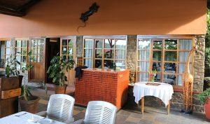 Breakfast at Mantenga Lodge in Mbabane, Swaziland