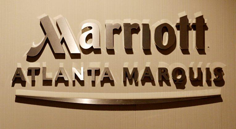 Marriott Atlanta Marquis sign