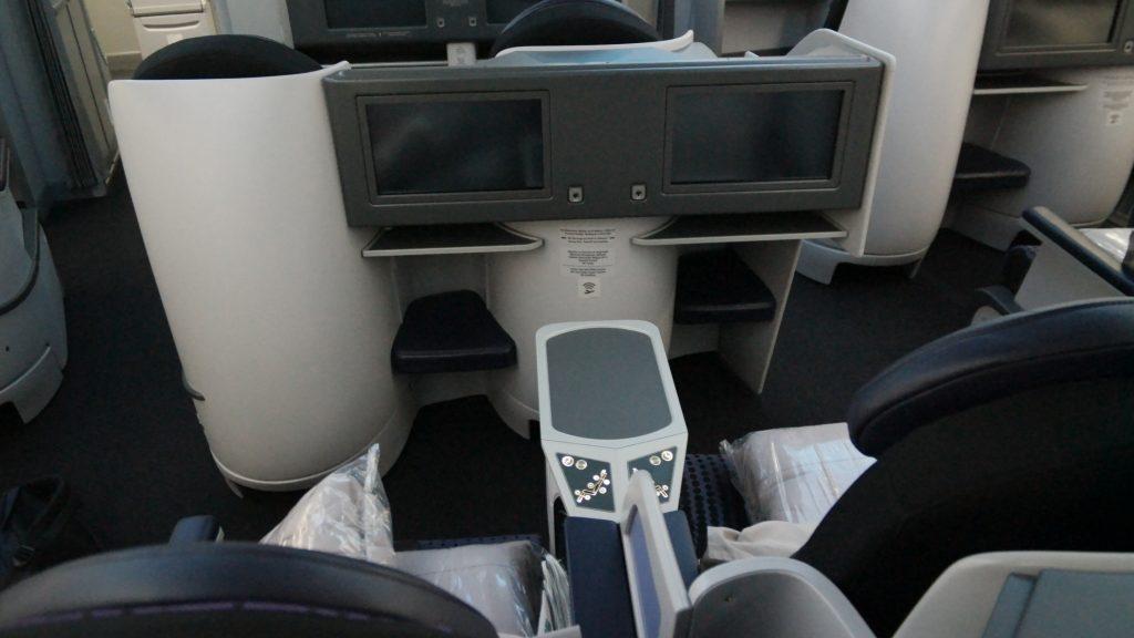 Aeromexico Business Class entertainment