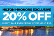 20 Percent Discount on Room Rates in Hawaii and Florida 2016