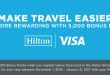 Visa 5,000 Hilton HHonors point bonus 2016