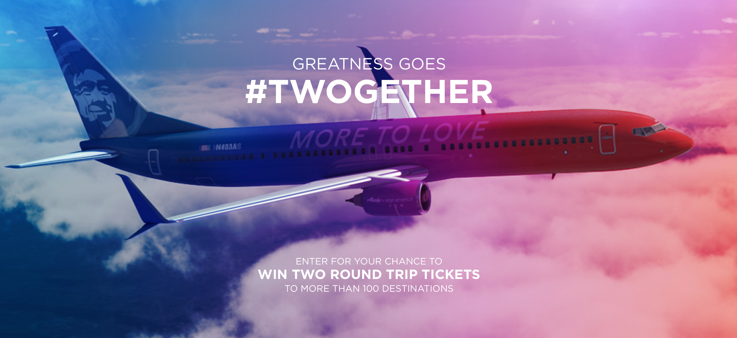 The #Twogether Sweepstakes: You Can Be One of 600 Winners For a Trip
