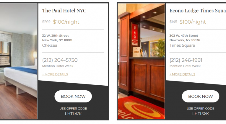 Average Price For A Hotel Room In Nyc