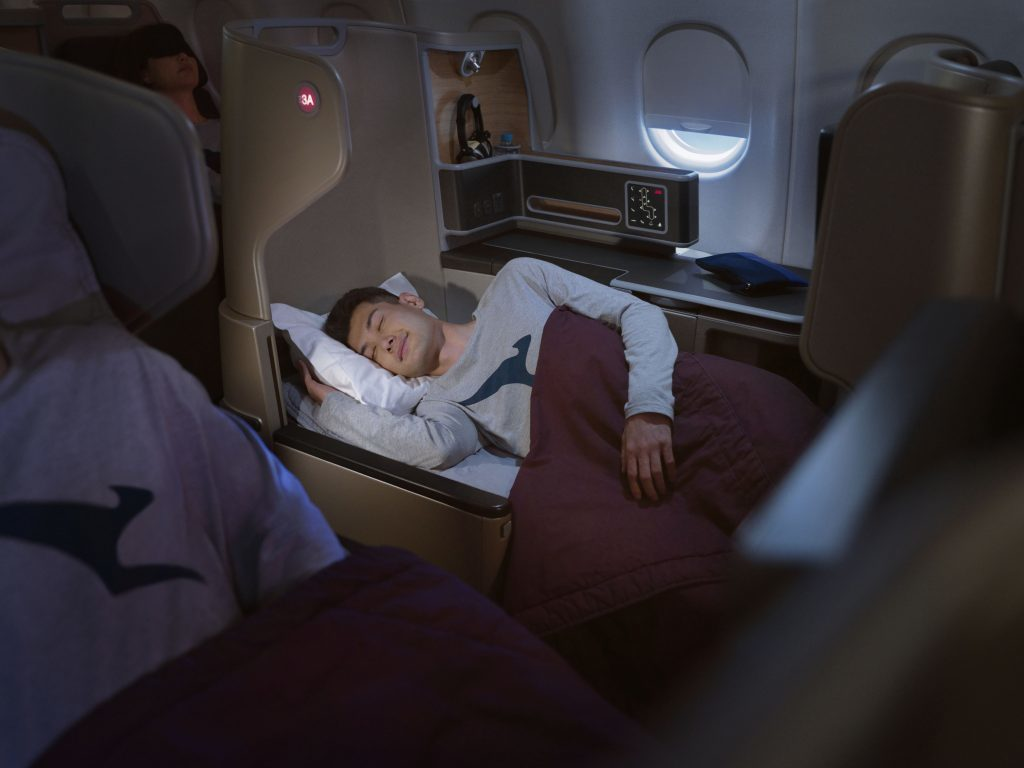 economy class snooze