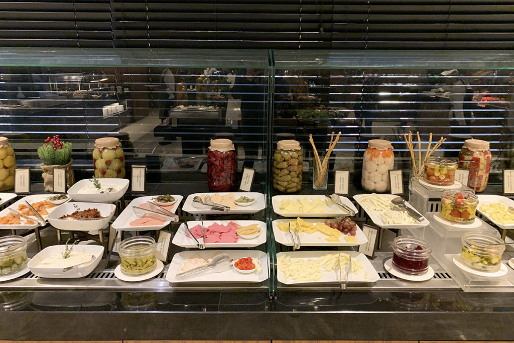 Breakfast buffet at Zaxi Restaurant