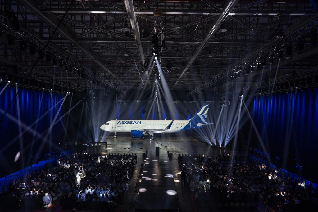 Aegean Airlines reveals new branding