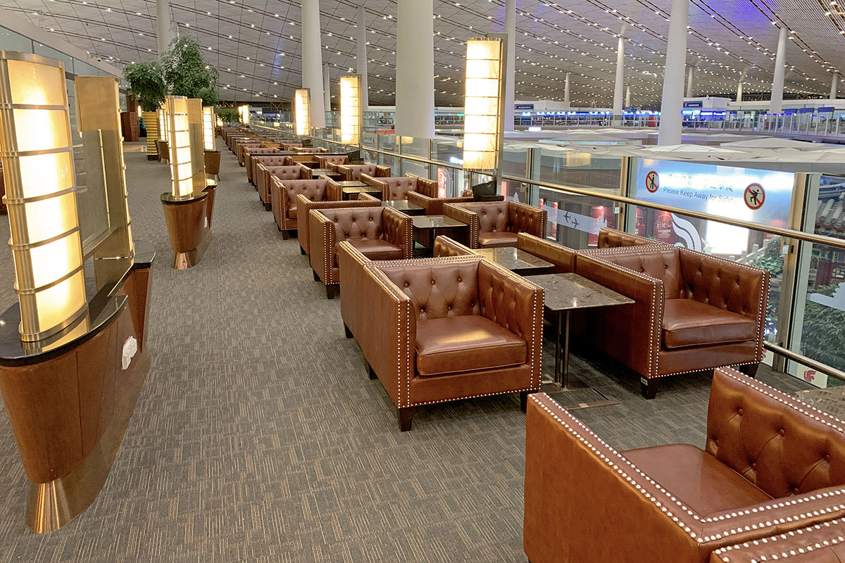 Air China First Class Lounge Beijing Capital Interntaional Airport Terminal 3