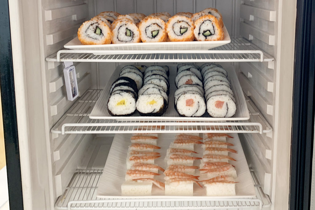 Sushi in it's simplest form