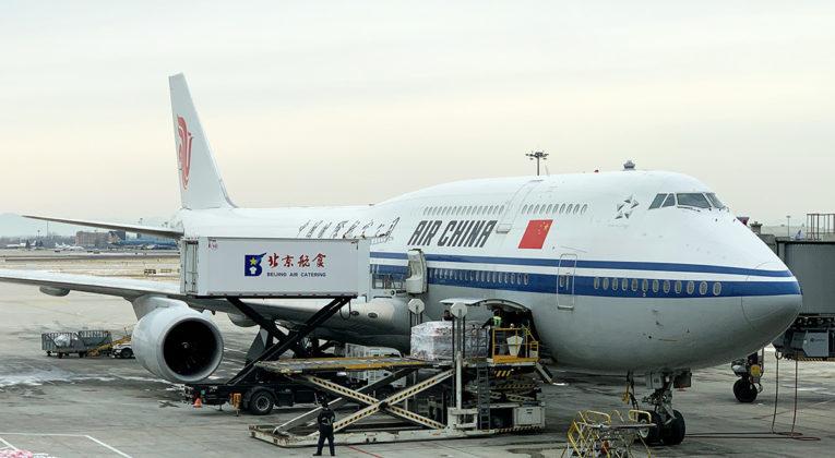 Air China Boeing 747-8
