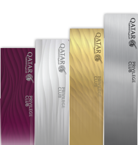 Qatar Airways Privilege Club membership tiers