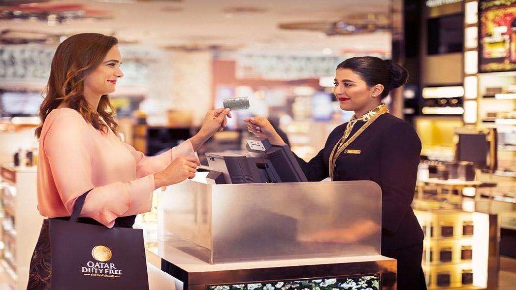 Duty Free shoppen in Qatar (Bron: Qatar Duty Free)