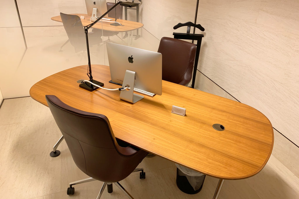 Private offices with iMacs