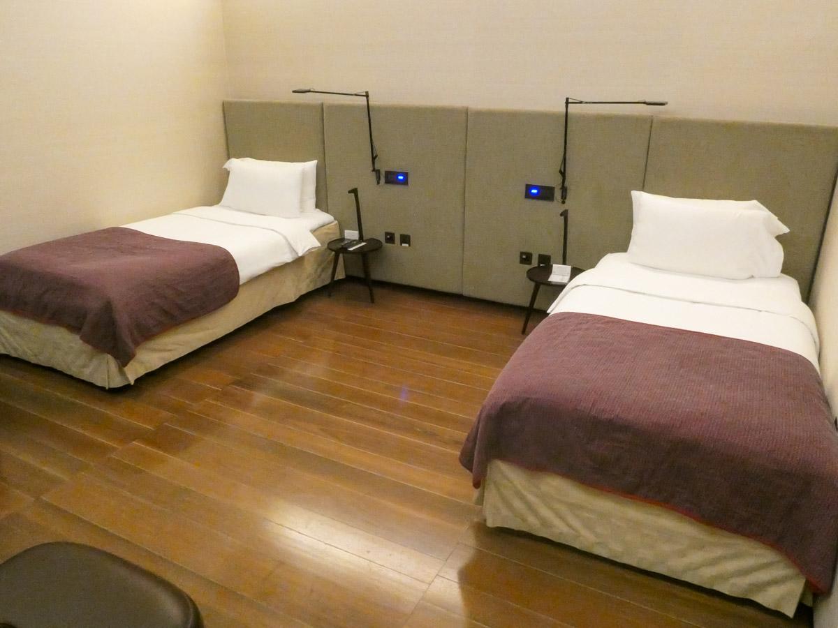 De kamers zijn redelijk basic (Bron: InsideFlyer)