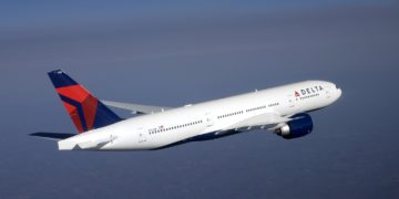 Boeing 777-200 in Delta livery (Source: Delta)