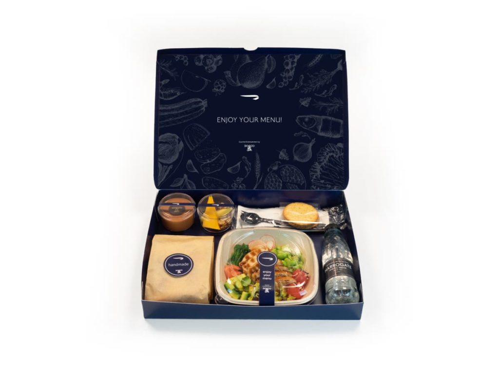 British Airways Club World Catering
