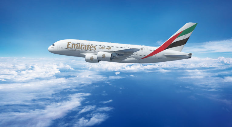 Emirates Airbus A380 (Source: Emirates)