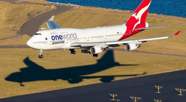 Qantas Boeing 747 (Source: Qantas / Instagram sjaviationphotography)