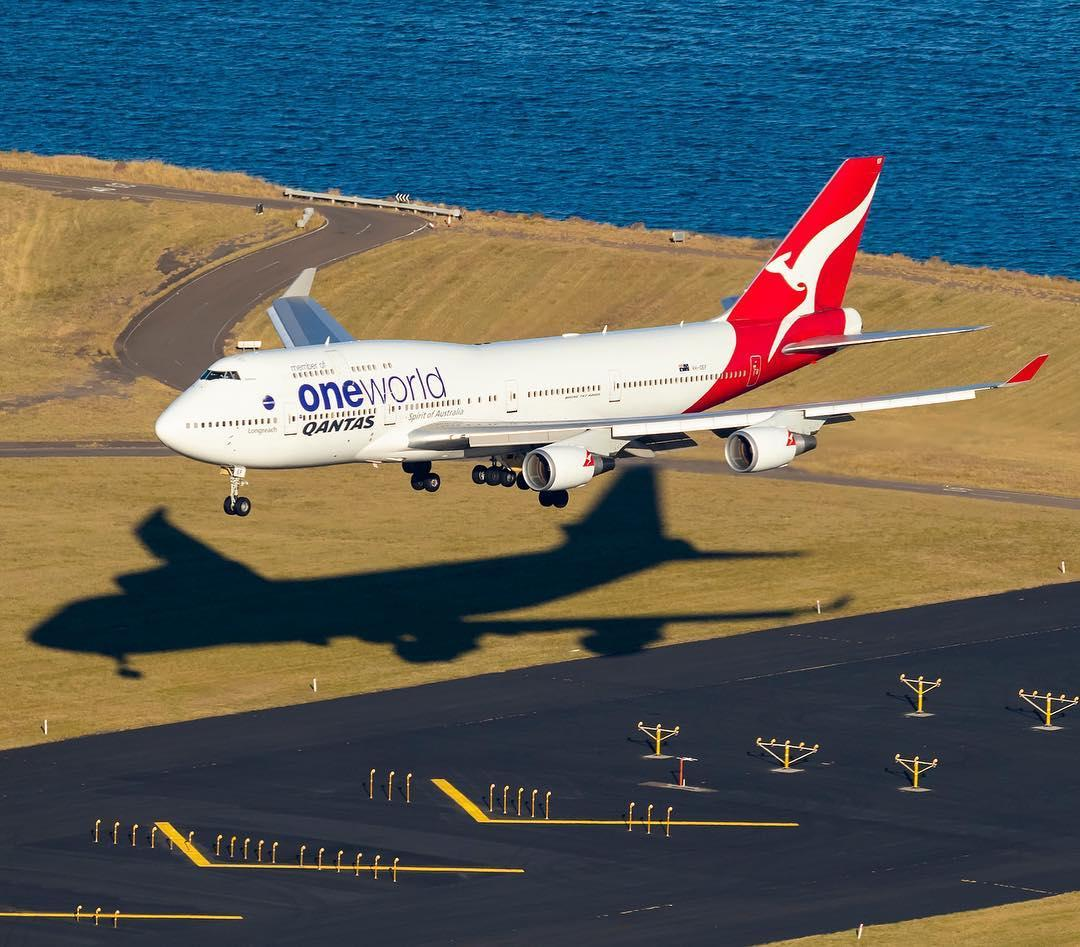 Qantas flies its Boeing 747 for the last time - InsideFlyer