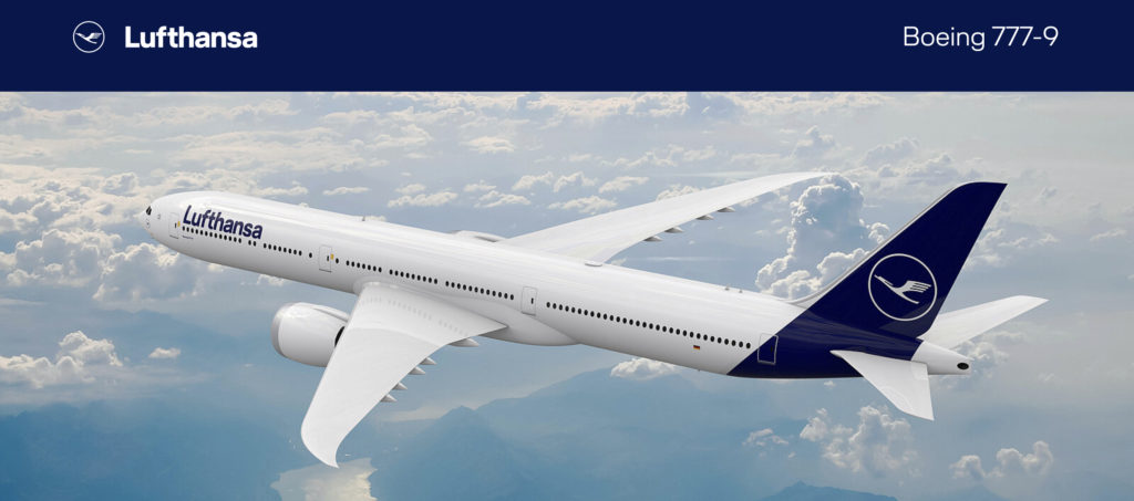 Boeing 777-9 for launch customer Lufthansa (Source: Boeing)