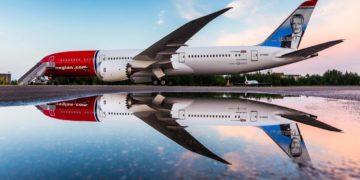 Boeing 787 Dreamliner in Norwegian livery (Source: Norwegian)