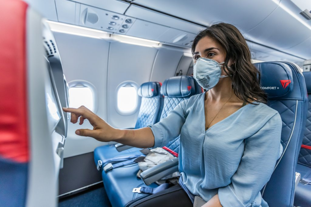 Delta extends onboard social distancing by blocking middle seats (Source: Delta)