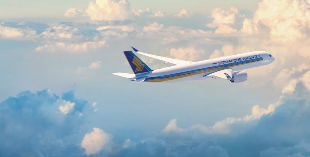 Airbus A350-900XWB in Singapore Airlines livery (Source: Singapore Airlines)