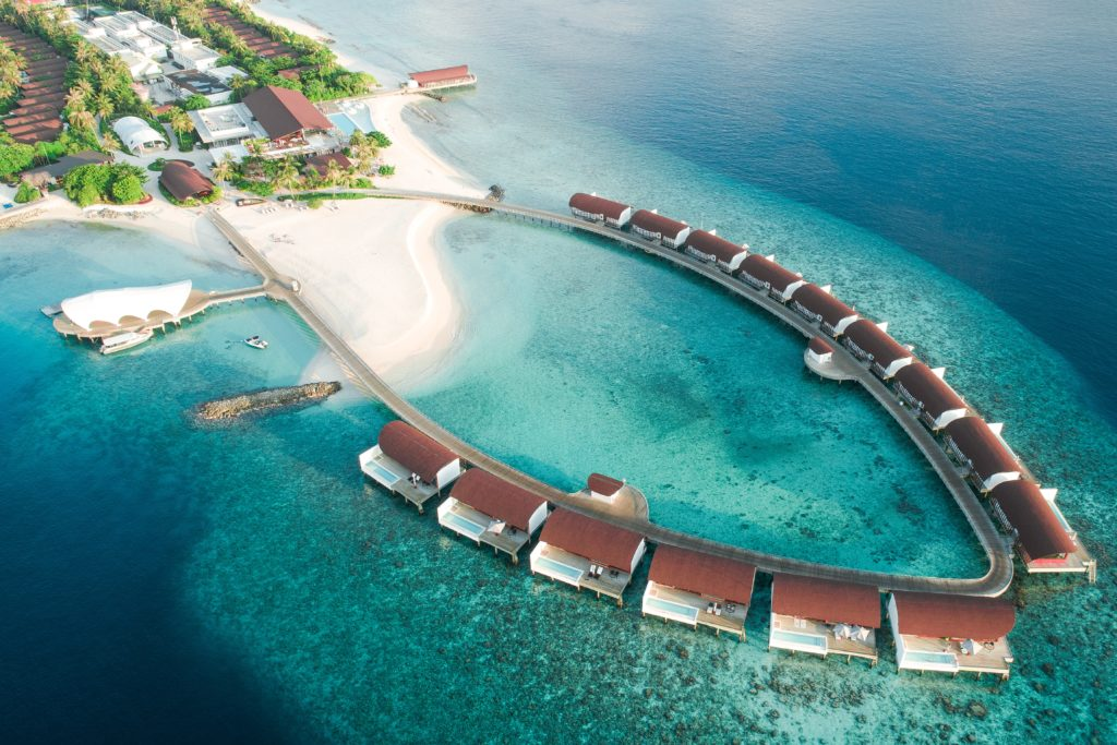 The Westin Maldives Miriandhoo Resort, Maldives (Source: Unsplash /Ahmed Yaaniu)
