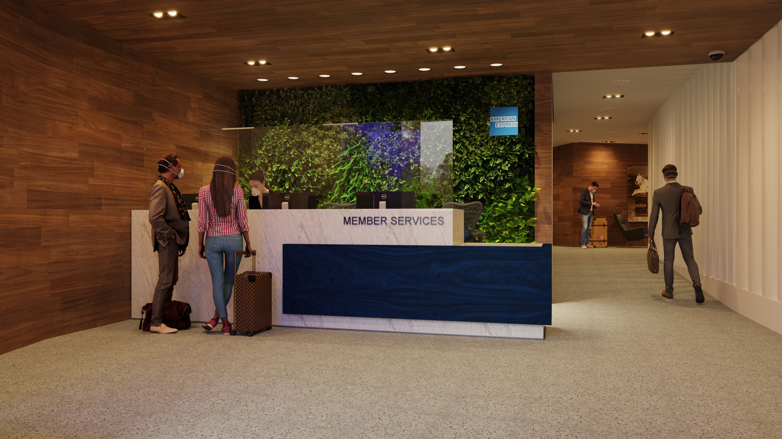 American Express slowly roepends its Centurion Lounges (Source: American Express)