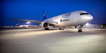 Aeromexico aircraft in SkyTeam livery (Source: SkyTeam)