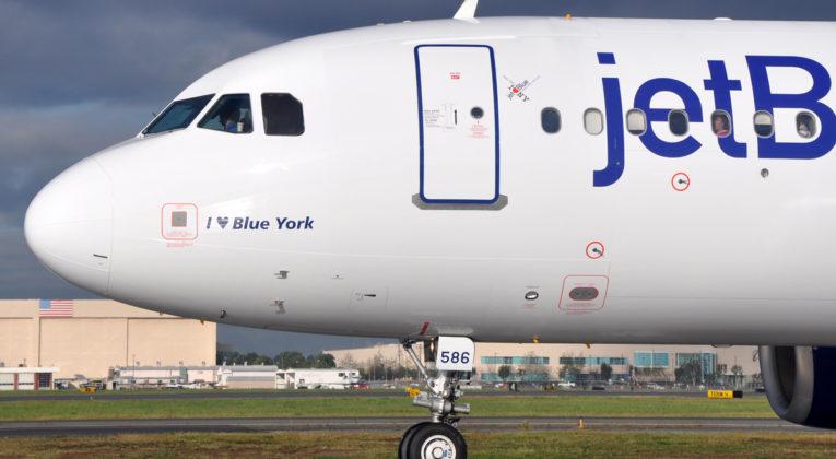 JetBlue aircraft (Source: JetBlue)
